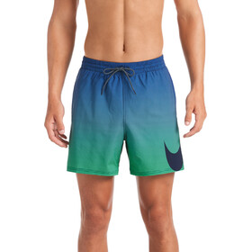 "Nike Swim Colour Fade Vital 5"" Volley Shorts Heren, midnight navy"